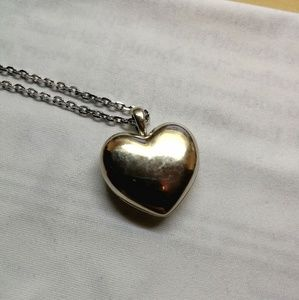 Pandora Love Locket Sterling Silver Gem Pendant